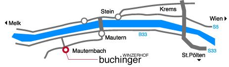 Karte Winzerhof Buchinger